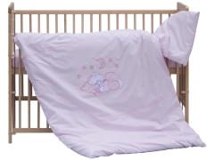 Dětské povlečení 2dílné - Scarlett Měsíček - růžové