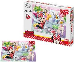 Puzzle Pohoda u Minnie XL 47x33cm 300 dílků