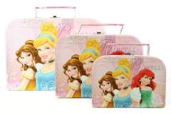 Sada 3 kufříků Princezny