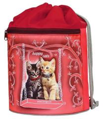 Sáček na cvičky SPORT LINE Happy cats Emipo