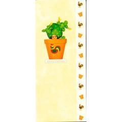Blahopřání Anne Geddes kaktus v oranžovém květináči