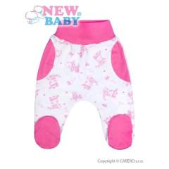 Kojenecké polodupačky New Baby Zebrababy II růžové