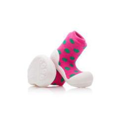 Botičky Attipas Polka Dot Pink