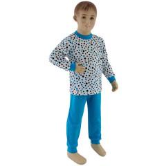 Chlapecké pyžamo tyrkysový puntík Esito Vel. 92 - 122