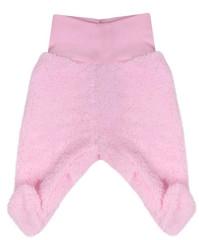 Fleecové polodupačky Baby Service Pinguin růžové Bez rozepínání