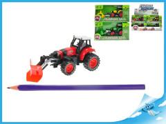 Traktor 13cm kov zpětný chod 3druhy