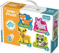 Puzzle Baby Classic -  Zvířata z lesa