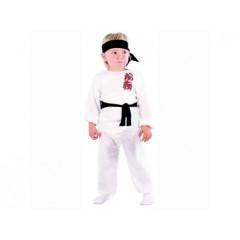 Karnevalový kostým - Karatista, Vel.  92-104cm