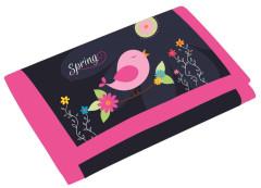 Dětská textilní peněženka Premium Spring