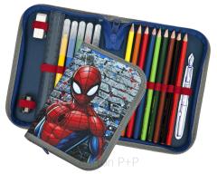 Penál 1 p. naplněný Spiderman