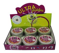 Ultra Plastelína 50g Průhledná