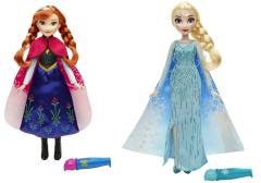 Frozen panenka s vybarvovací sukní