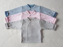 Bavlněný kabátek dvouvrstvý PRUH Baby Service vel. 56 - 74