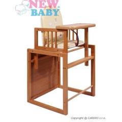 Buková židlička New Baby Victory - přírodní