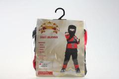 Kostým Ninja - Dračí bojovník 92-104 cm