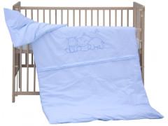 Dětské povlečení 2dílné - Scarlett Hrošík - modré 100 x 135 cm
