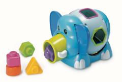 Slon Jumbo s vkládacími tvary B kids