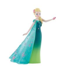 Figurka Elsa v zelených šatech