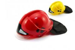 Helma přilba hasiči plast 27x16cm