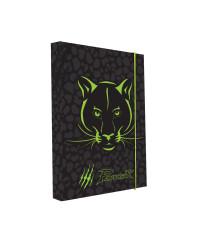 Desky na sešity Heft box A4 - PREMIUM Panther