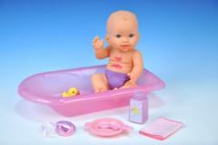 Špinavá panenka miminko s doplňky