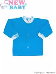 Kojenecký kabátek New Baby Zebrababy II modrý