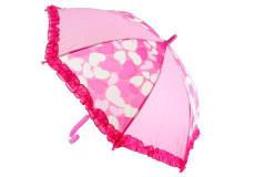 Deštník se srdíčky vystřelovací