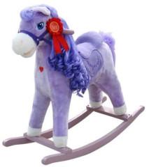 Houpací koník Milly Mally Princess violet