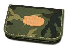 Školní pouzdro 2-klopy plněné Top Army Emipo