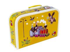 Kufřík Krtek a Mašinka žlutý 35 cm
