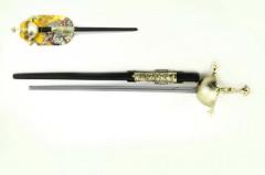 Kord meč rytířský plastový 63cm