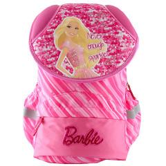 Školní batoh Barbie - Růžový s nápisem Never enough sparkle