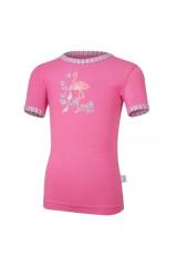 Tričko tenké KR obrázek Outlast® tm. růžová