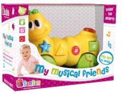 Hudební hračka housenka Bam Bam