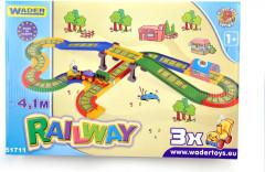 Kid Cars - Železnice s městem 4,1m Wader