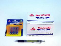 Baterie Grada LR03/AAA 1,5V alkaline 4ks na kartě