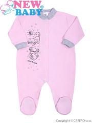 Kojenecký overal New Baby Kamarádi růžový