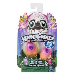 Hatchimals sběratelská zvířátka ve vajíčku zářící DVOJBALENÍ serie 4.