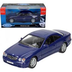 Model auta 1:34 MERCEDES - BENZ CL600 Welly