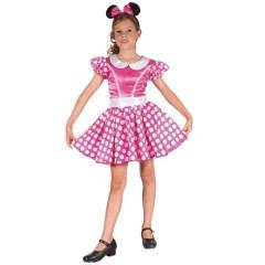 Karnevalový kostým -  Myška Vel.  120-130cm
