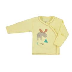 Kojenecká bavlněná košilka Koala Happy Baby žlutá