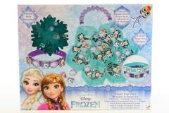 Výroba náramků - korálky Frozen