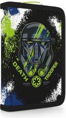 Penál 1patrový s chlopní Star Wars modro-zelený NEW 2017