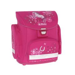 Školní batoh Herlitz Midi Kůň růžový