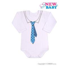 Kojenecké body s kravatou New Baby