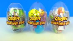 Cosby Crystal egg 12cm - lízátko,hračka a samolepka 12druhů