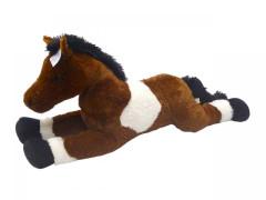 Kůň bílo/tm.hnědý 80 cm