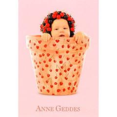 Blahopřání mini Anne Geddes - Růžová třešinka