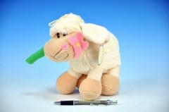 Plyšová ovečka 22cm na baterie se zvukem
