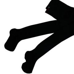 Dětské punčocháče Design Socks vel. 1 (12 - 24 měs) ČERNÉ